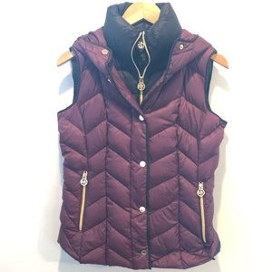 Michael Kors ultra light vest